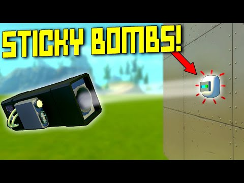This Sticky Bomb Tank Battle Had Sticky Situations! - Scrap Mechanic Multiplayer Monday
