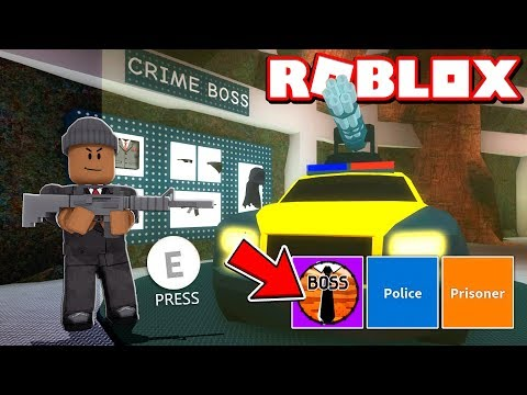 *NEW* ROBLOX JAILBREAK CRIME BOSS UPDATE!!