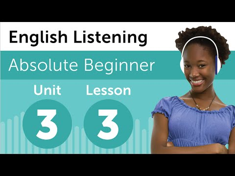 English Listening Comprehension - Shopping at a Boutique in USA