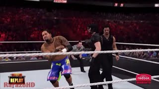 WWE 2K15 [SIMULATION] - Team Rhodes vs Team Shield - Survivor Series 2013 Highlights [HD]