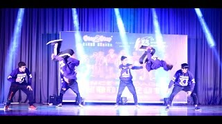 Best Hip Hop Dance (Fusion) | Group Dance Performance | Dance Classes in Mohali