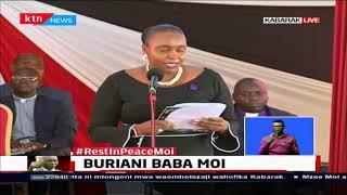 Dr. Caroline Karugu honours Former President Daniel Moi