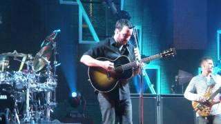 "Dave Matthews Band ""Broken Things"" 11/30/12 IZOD Center (live full band debut)"