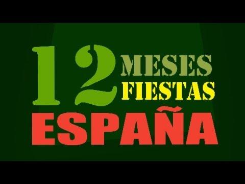 12 Meses 12 Fiestas en España
