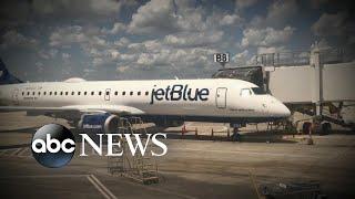 Crew members on Jet Blue flights sickened