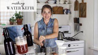 My FAVORITE Summer Drink! | WATER KEFIR