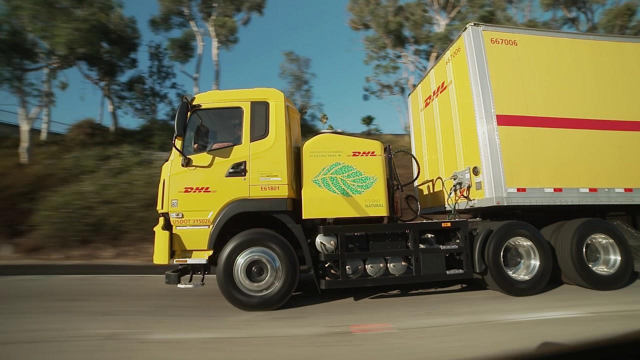 DHL делает ставку на электрические грузовики. Четыре новых «электрика» в американском автопарке