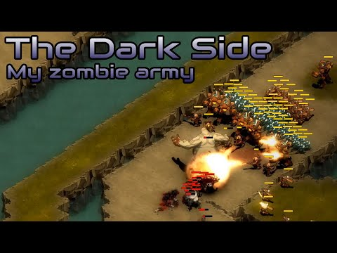 They are Billions - The dark side - My Zombie Army - custom map - No pause