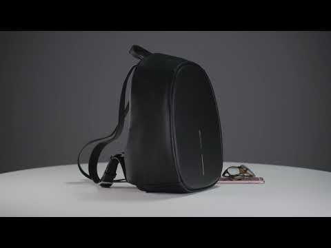 Bobby Elle Anti-Theft backpack, Black