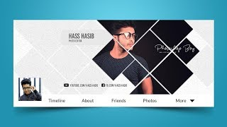 How To Make Facebook Cover Photo In Photoshop - Photoshop Tutorials