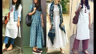 Casual Outfit Ideas For College | Latest Office / College Dress Designs For Women / Girls