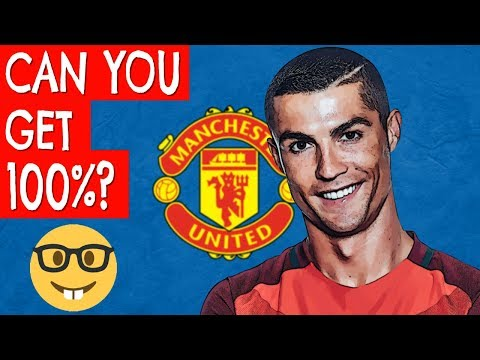 Ronaldo at Manchester United | Football Quiz