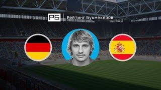 Прогноз Максима Калиниченко: Германия — Испания