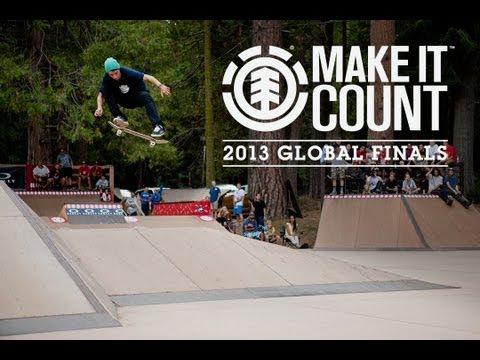 ELEMENT MAKE IT COUNT 2013 GLOBAL FINALS