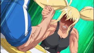 Machio Naruzo  - (How Heavy Are the Dumbbells You Lift?) - Hibiki arm wrestles Machio