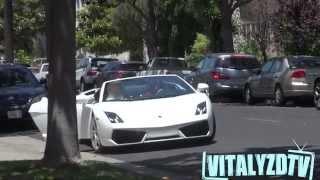 Pegando mulheres com uma Lamborghini sem falar nenhuma palavra