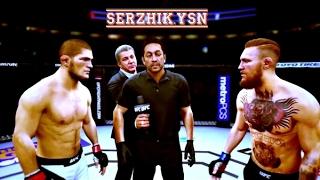 UFC 2 БОЙ Хабиб Нурмагомедов vs Конора МакГрегора (com. vs com.)