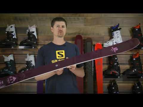Salomon QST Lumen 99 Skis- Women's 2019 Review
