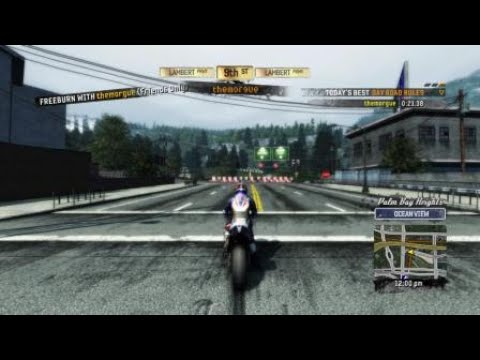 Burnout Paradise Remastered - Motorcycle Road Rules - 9th
