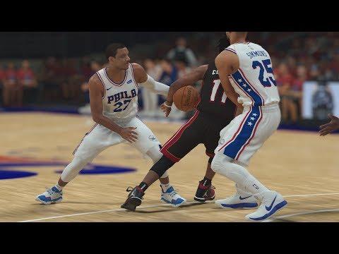 NBA 2K19 My Career EP 69 - Jordan&#39s Playoff Record! QFG2
