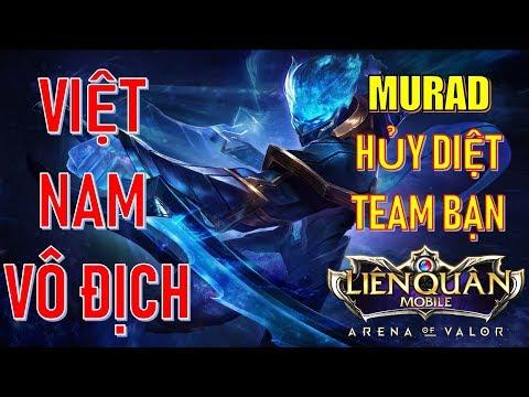 Cách Murad ép lane hủy diệt rừng và team bạn dễ dàng