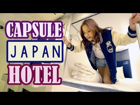 CAPSULE HOTEL IN JAPAN EXPERIENCE | Shop in Akihabara