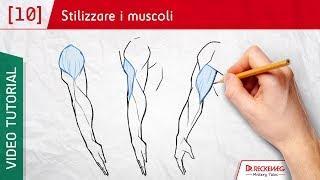 I muscoli - Come disegnare un fumetto