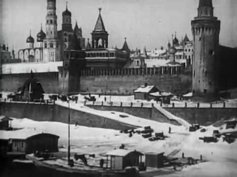 Moskau im Schnee 1908 [Video]