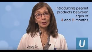 Peanut-allergy prevention in infants - Dr. Maria Garcia-Lloret | UCLA Mattel Children's Hospital