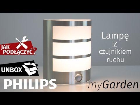 JAK PODŁĄCZYĆ lampę LED kinkiet z czujnikiem ruchu Philips myGarden Calgary