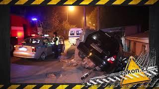 Водитель Subaru Forester погиб при столкновении с забором