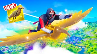 Fortnite added *NEW* GOLDEN Crows!