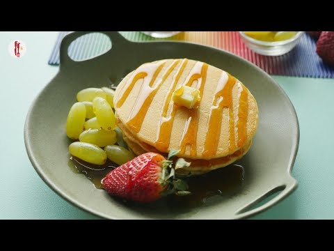 Plain and chocolate Pancake recipes by Food Fusion Kids