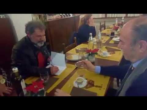 scambio libri tra Mario DE MARCO e Gianfranco STELLA dei rispettivi libri pubblicati
