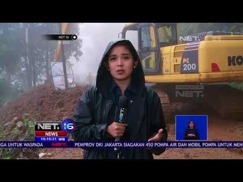 Bencana Longsor Di Bogor Evakuasi Dilakukan Dengan Alat Berat - NET 16