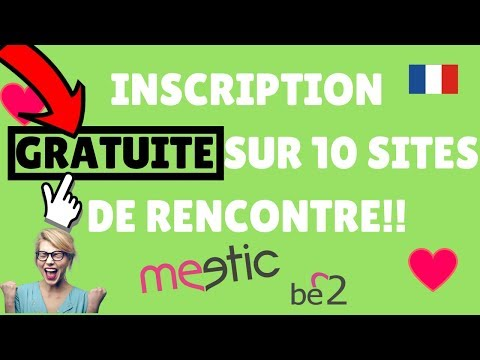 Inscription site de rencontre gratuit