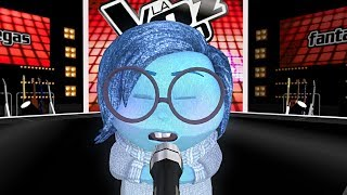 Sadness sings «Hello» La Voz MMD | Blind Auditions