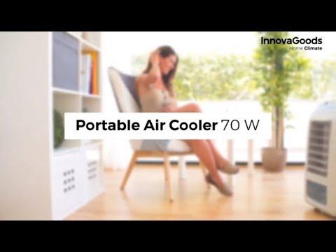 Nešiojamas garavimo oro aušintuvas InnovaGoods 4,5 L 70W kaina ir informacija | Kondicionieriai, šilumos siurbliai, rekuperatoriai | pigu.lt