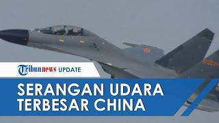 Serangan Udara Terbesar, 28 Pesawat Tempur China Serbu Wilayahnya, Taiwan Siagakan Rudal