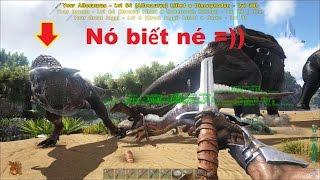 ARK: Survival Evolved #26 - Xây nhà mới trên vùng đất của Khủng long bạo chúa T-Rex