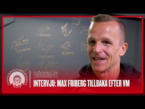 Youtube: Max Friberg är tillbaka efter VM! Och är spänd på vad som väntar