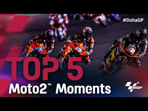 Moto2 2021 第2戦ドーハGP 決勝レースをハイライト動画