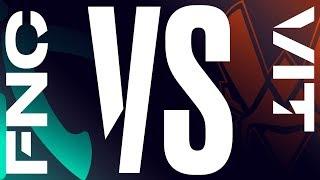 FNC vs. VIT - Week 4 Day 1 | LEC Summer Split| Fnatic vs. Vitality (2019)