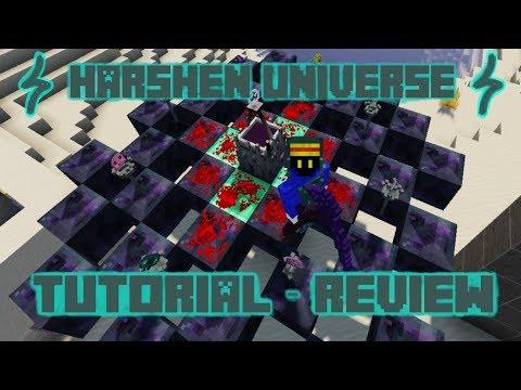 HARSHEN UNIVERSE 1.12.2 | TUTORIAL REVIEW EN ESPAÑOL | MINECRAFT MOD