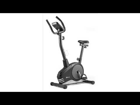 Hop-Sport Heimtrainer Spark Fitnessgerät mit Pulssensoren & Computer