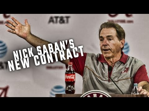 How much will Nick Saban make from his new deal?