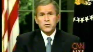 George W. Bush The Night of 9-11-01