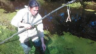 Как сделать рогатку для рыбалки на живца