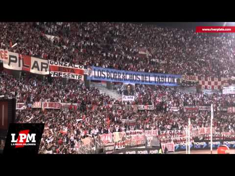 """Señores, yo soy del gallinero + Gol Cavenaghi - River vs. Racing - T. Final 2014"" Barra: Los Borrachos del Tablón • Club: River Plate • País: Argentina"