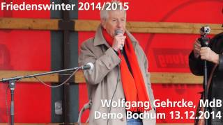 preview picture of video 'Friedenswinter 2014/2015 Demo Bochum 13.12.2014'